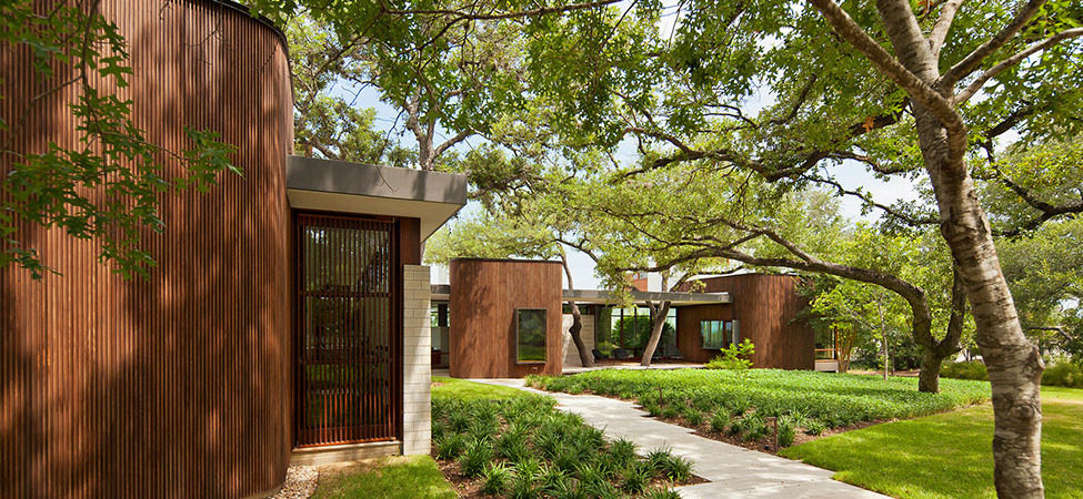 Harmonious Family Home in Texas Braided Into the Landscape