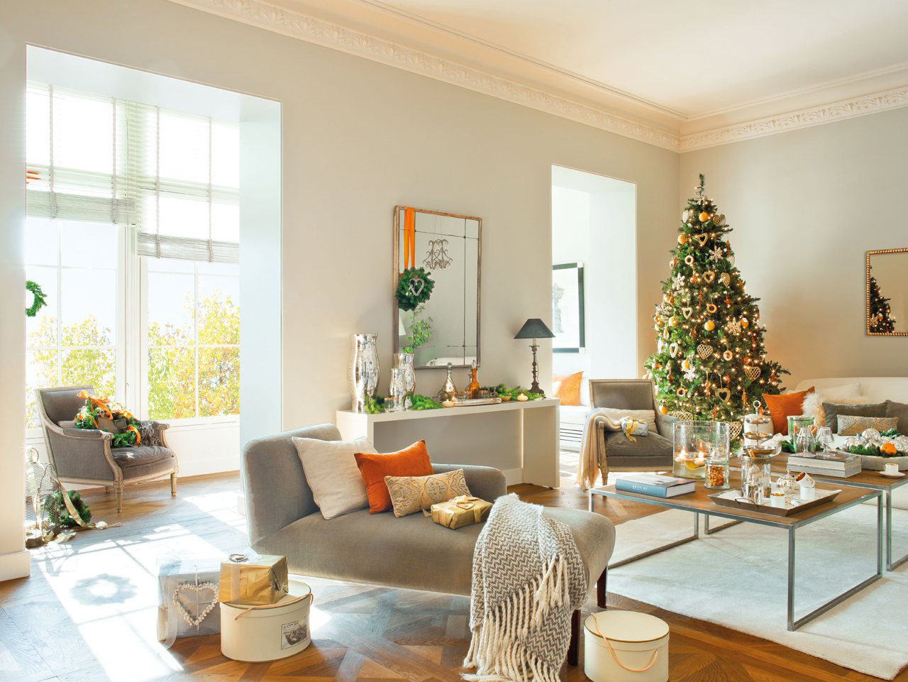 Modern Christmas Decorations for Inspiring Winter Holidays (12)