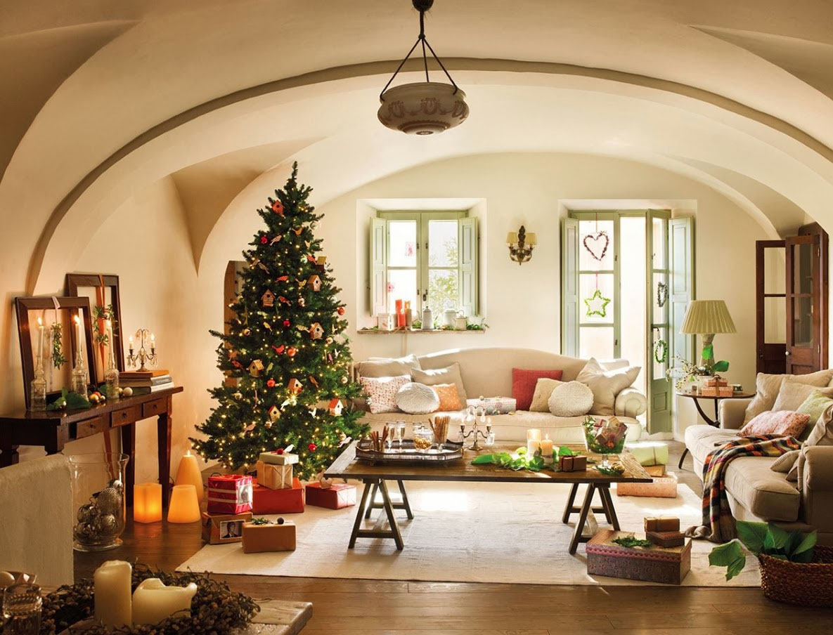 Modern Christmas Decorations for Inspiring Winter Holidays (14)