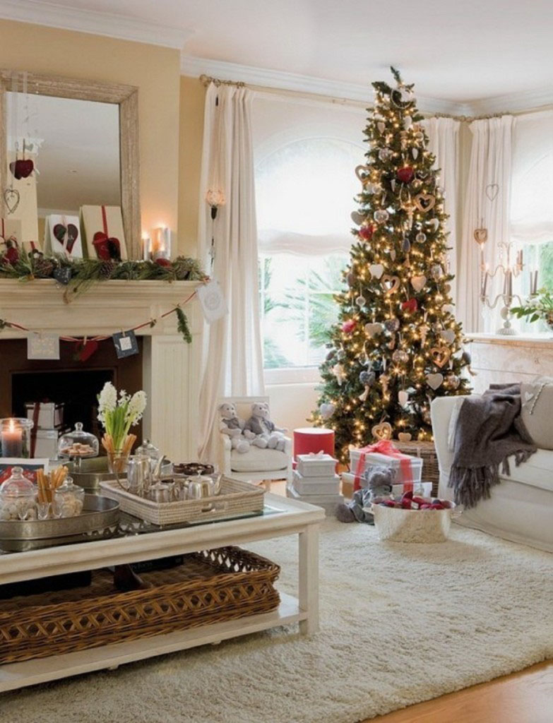 Modern Christmas Decorations for Inspiring Winter Holidays (16)