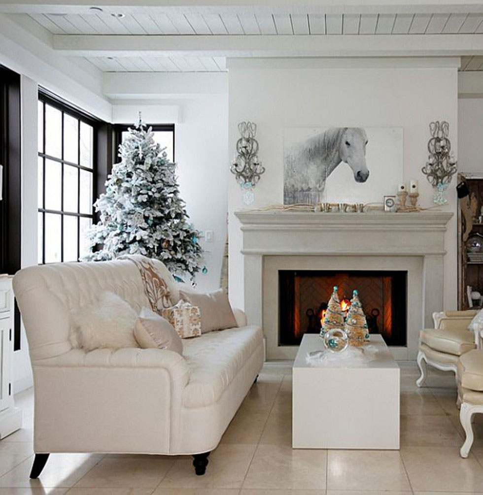 Modern Christmas Decorations for Inspiring Winter Holidays (18)