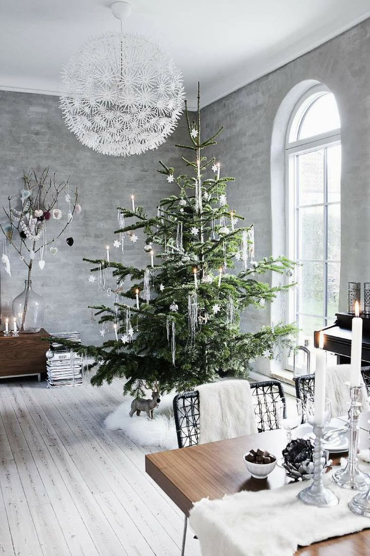 Modern Christmas Decorations for Inspiring Winter Holidays (2)