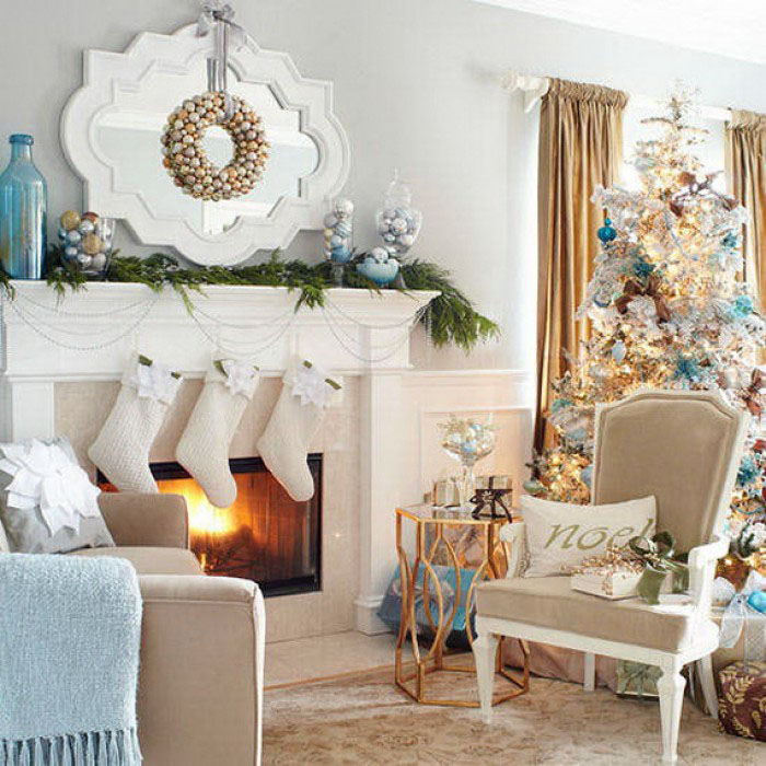 Modern Christmas Decorations for Inspiring Winter Holidays (21)