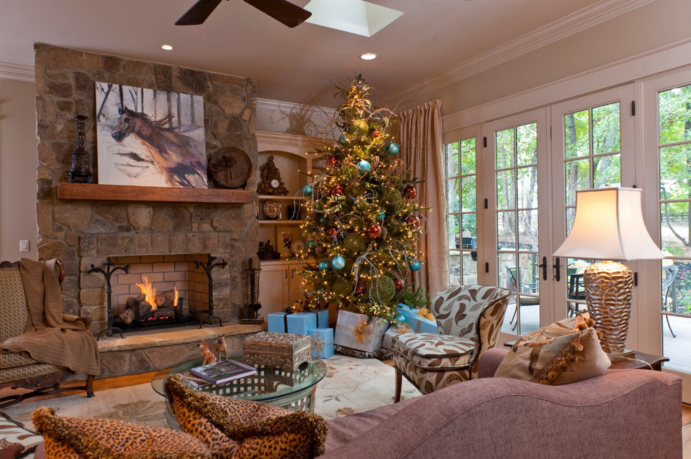 Modern Christmas Decorations for Inspiring Winter Holidays (23)