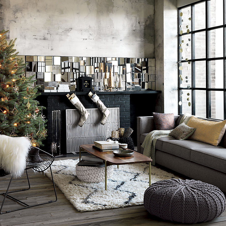 Modern Christmas Decorations for Inspiring Winter Holidays (25)