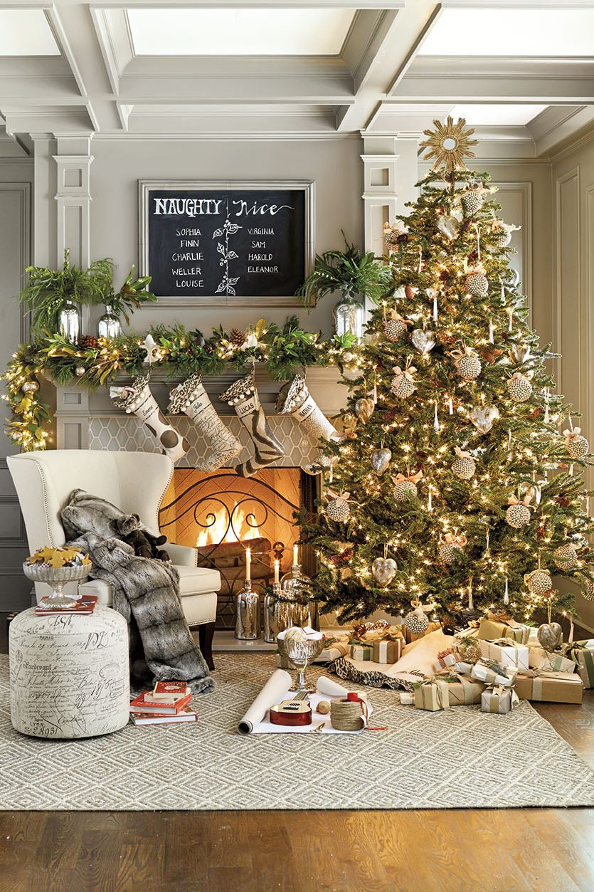 Modern Christmas Decorations for Inspiring Winter Holidays (4)