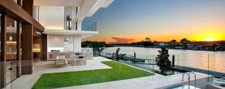 Inspiring River-View Home as Prelude to a Happy Family Life