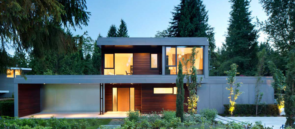 Exemplary H-Shaped Contemporary Family Home in Canada