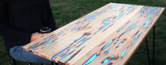 Make Your Own Glowing Furniture: DIY Glow-in-the-Dark Table by Mat Brown