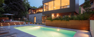 Modern City Oasis in Montreal, Canada: Prince Philip Residence