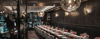 Sumptuous, Yet Intimate Design Scheme Exhibited by M Restaurant in London