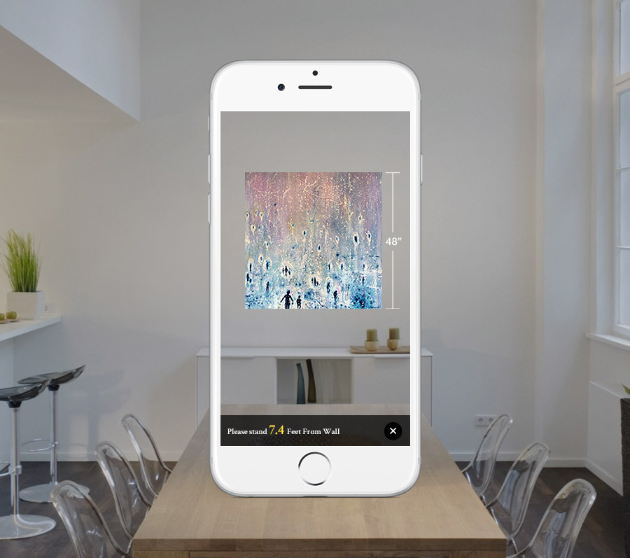 Preview Artistic Works In Your Room With Saatchi Art's New