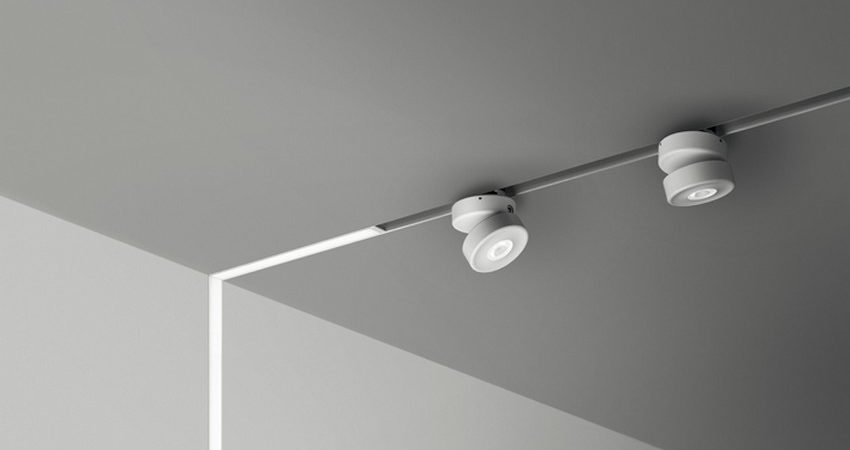 Innovative Lighting Fixture on a Low-Voltage Power Magnetic Track by B Light