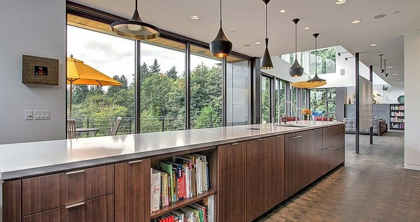Simple Geometry Shines in Modern Seattle Home