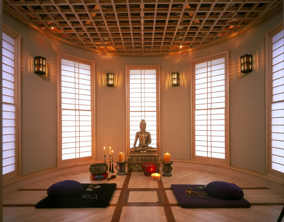 yoga meditation room