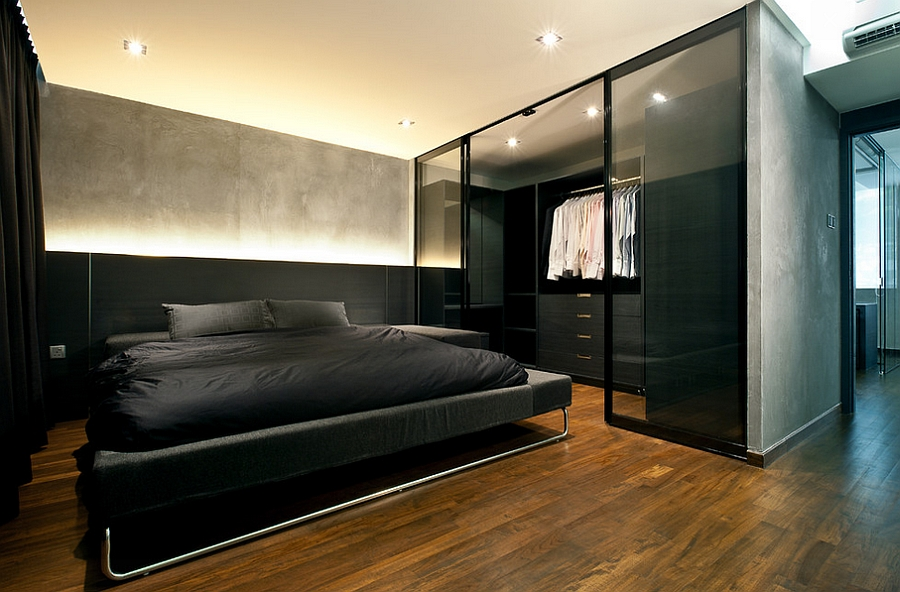 Mens Modern Bedroom