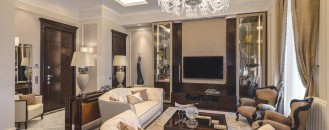 Classic-Style Apartment in Ospedaletti Evoking the Italian Riviera