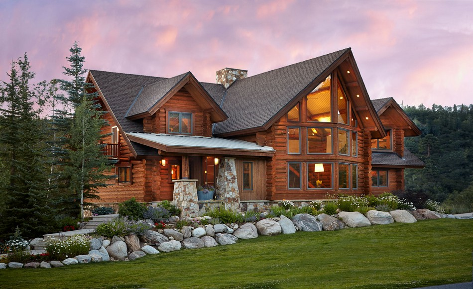 Charming Log Residence in Colorado Unveiling Spectacular ...