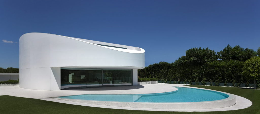 Elliptical-Shaped Residence in Spain with a Futuristic Character: Balint House