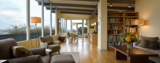User-Friendly for Wheelchairs and Sneakers Alike: Magnolia Mid-Mod House in Seattle