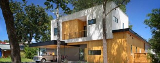 """Balancing Restraint and Sophistication: """"Tree House"""" Family Residence in Austin, Texas"""