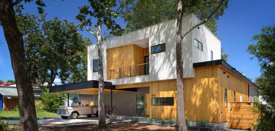 "Balancing Restraint and Sophistication: ""Tree House"" Family Residence in Austin, Texas"