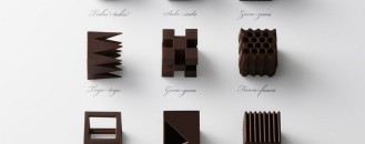 Nendo's Sculptural Truffles Make for a Perfect Architect's Gift: Chocolatexture Collection