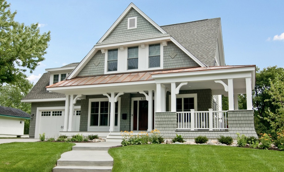 cedar shingle home