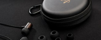 Meze 11 Classics Earphones Exhibiting Stylish Handcrafted Ebony Wood