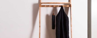 Declutter Your Entryway With This Bentwood Organizer