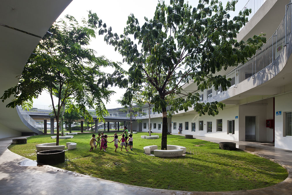 Farming Kindergarten by Vo Trong Nghia Architects (10)
