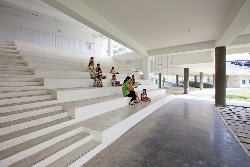 Farming Kindergarten by Vo Trong Nghia Architects (15)