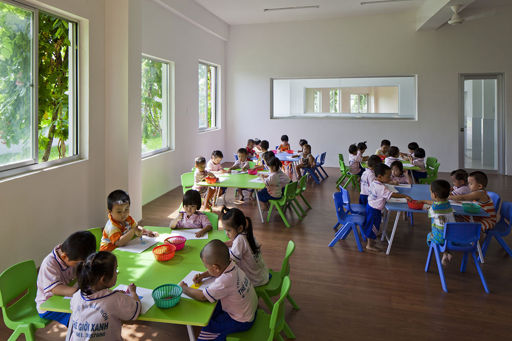 Farming Kindergarten by Vo Trong Nghia Architects (16)