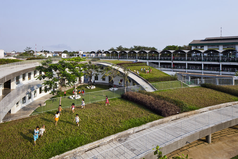 Farming Kindergarten by Vo Trong Nghia Architects (4)
