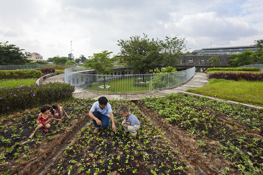 Farming Kindergarten by Vo Trong Nghia Architects (5)