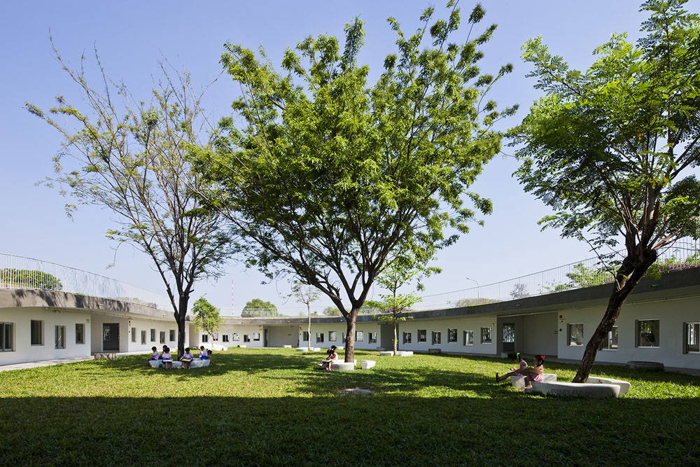 Farming Kindergarten by Vo Trong Nghia Architects (9)