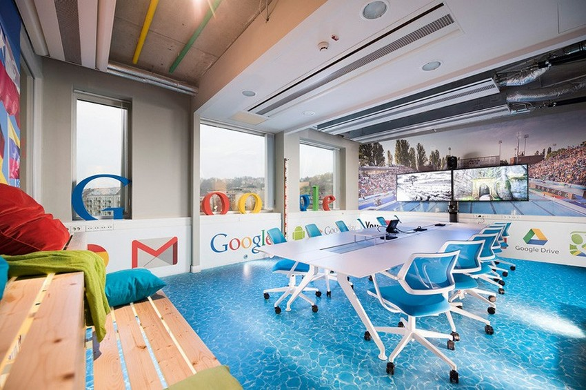 spa theme as inspiration for the energetic google offices in rh freshome com