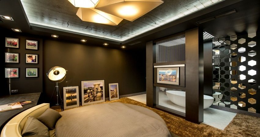 Modern Footballer's Apartment in Ukraine Inspiring an Adventurous Lifestyle