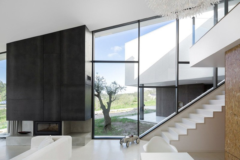 Remarkable Design Shaping Modern House In Portugal Freshome Com