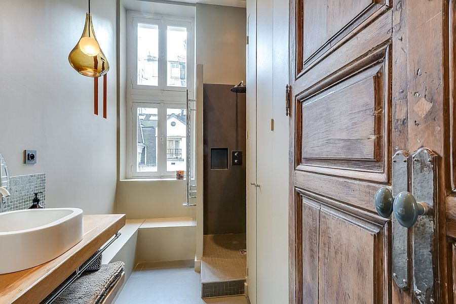 Lovely Small Apartment In Paris Mixing Contemporary And