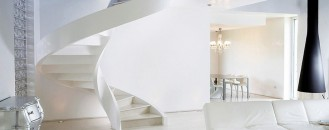 Refined Contemporary Design: Self-Supporting Spiral Staircases by Rizzi Studio