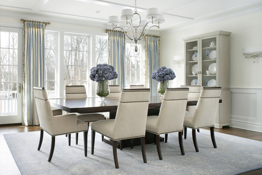 dining room chairs curtains shelves