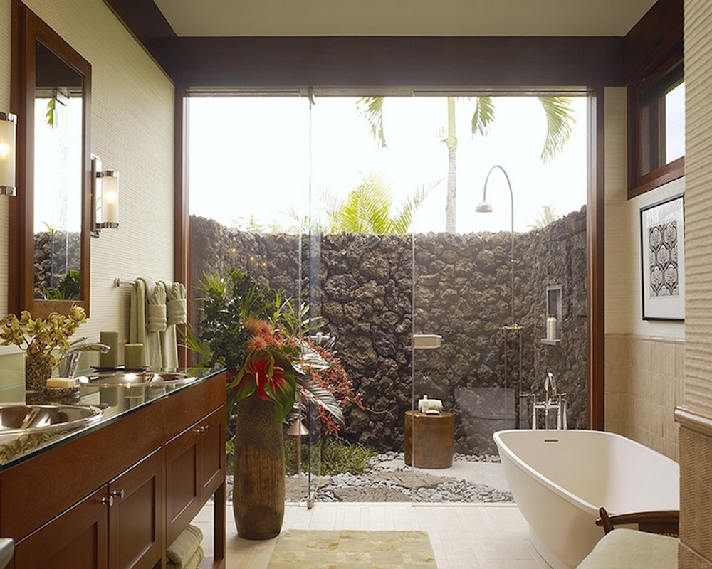 Seal sources of moisture to protect against mold. Image Via: Slifer Designs