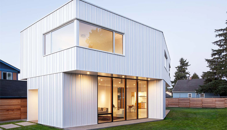 Intriguing Pavilion House in Portland Inspired by a Dining Table
