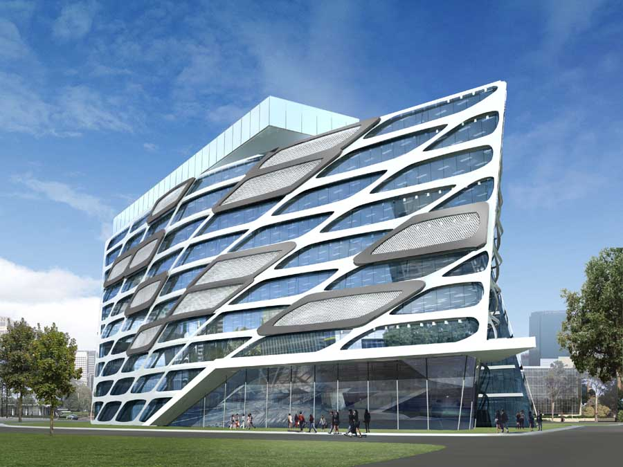 vietnam architecture office buildings building architect modern architects philippines software trung lac ho classic futuristic vietcombank chi minh hanoi composite