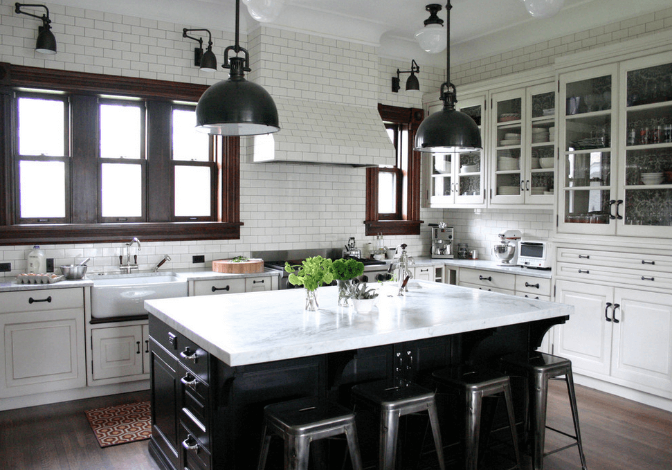 Collect This Idea Countertop Island Black And White