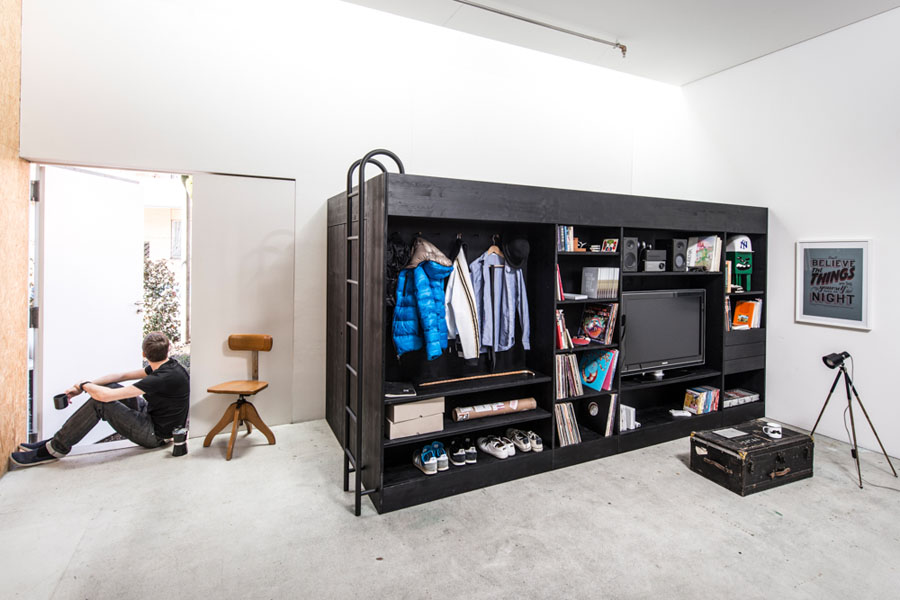 Compact Living Cube Multi-Functional Furniture and Storage | Freshome.com