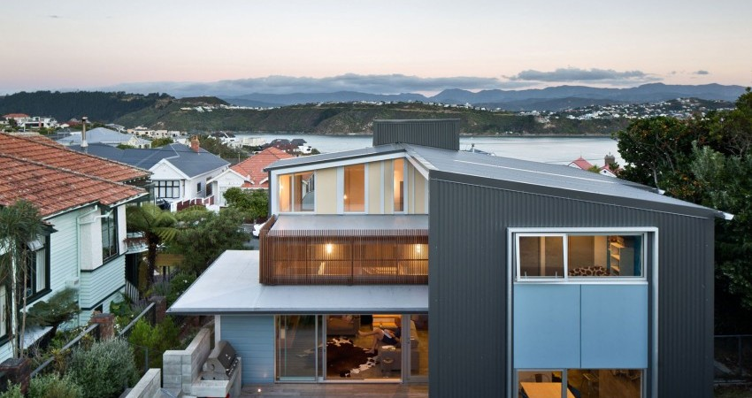 Contemporary Extension for Early 1900's Villa: Matai House in New Zealand