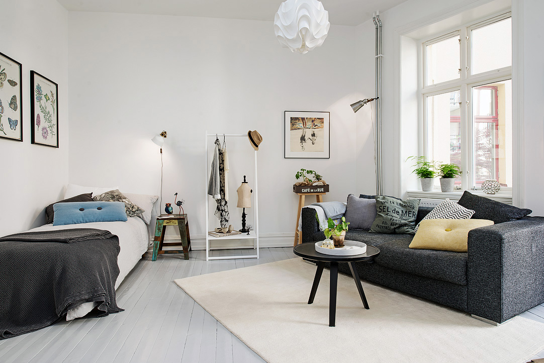 Delightful one room studio apartment in gothenburg - Pictures of studio apartments ...