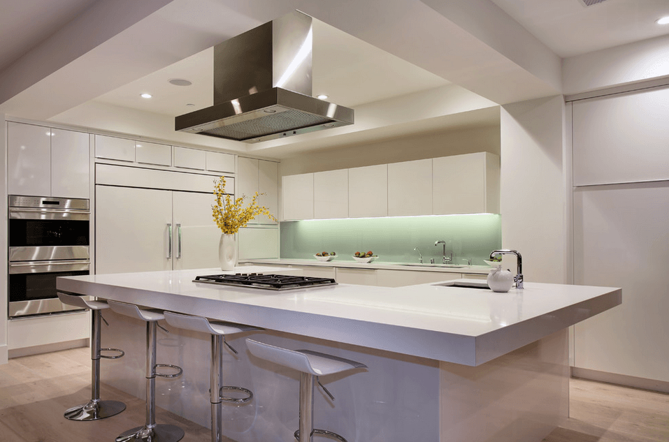 Modern Kitchen Design With Island